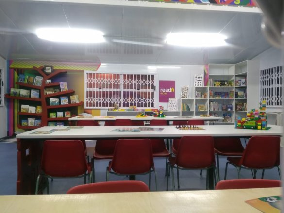 Cecil Road Primary School gets a new library2