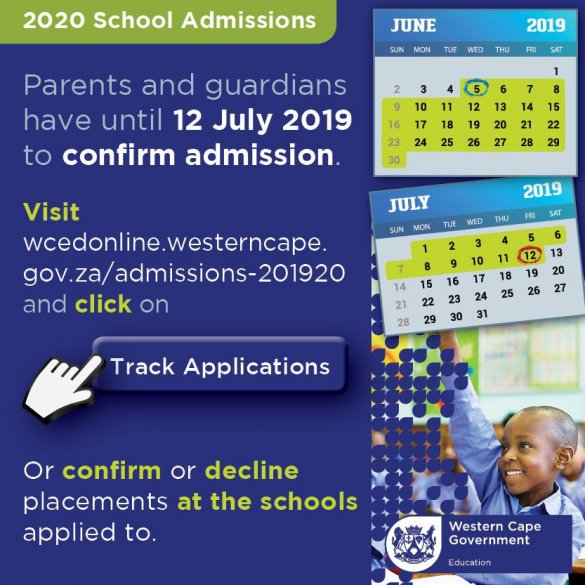 Brace yourselves…Admissions 2020