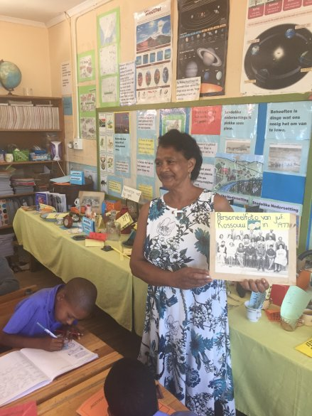 Experienced teacher makes 'history come alive'