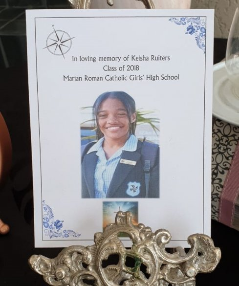 Metro North pays tribute to Keisha Ruiters, posthumously