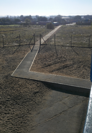 110m wheelchair pathway links learners' home to her school2