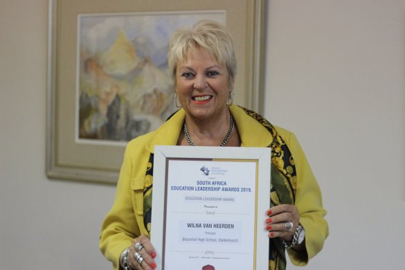 Prestigious Award for Bloemhof Principal
