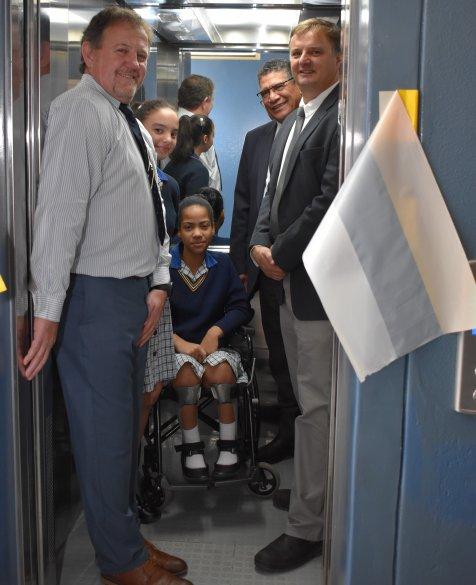 Huguenot High School gets a 'lift'
