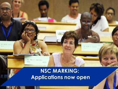 Applications open for National Senior Certificate marking officials
