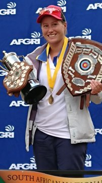 Local Science teacher claims South Africa's best outdoor archer title