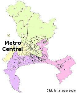 Metro-Central Map