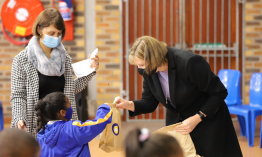 Celebrating Mandela Day with toiletry pack drive
