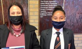 Gansbaai learner publishes first of many short stories