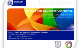 Registrations open for Creative Arts Education Conference