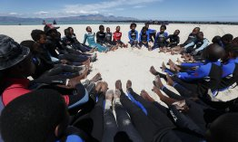 Surfing programme yields positive change for children with autism