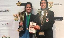 02 - Bayyinah Manjoo and Fatima Ismail 2019 Spelling Bee2.jpg