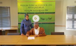 Ground-breaking MOU between WCED and Muslim Judicial Council