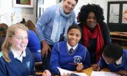 Partnership between Paarl schools pays off