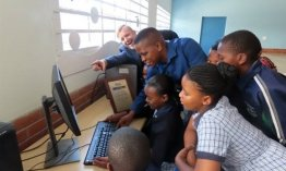 Teacher takes initiative to secure computers