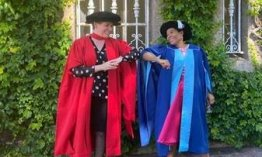 HS Principal receives her Doctorate