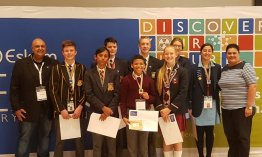 Western Cape Science boffins awarded at Eskom Expo International Science Fair