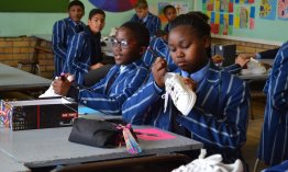 How Worcester PS learners created the shoes Ndlovu Youth Choir wore on America's Got Talent!