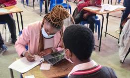 Vaccination outreach in Khayelitsha