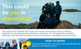 The Matrics in Antarctica initiative is back!