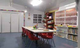 Cecil Road Primary School gets a new library