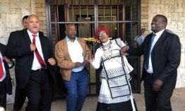 Singing and dancing as Masiyile High School opens new hall